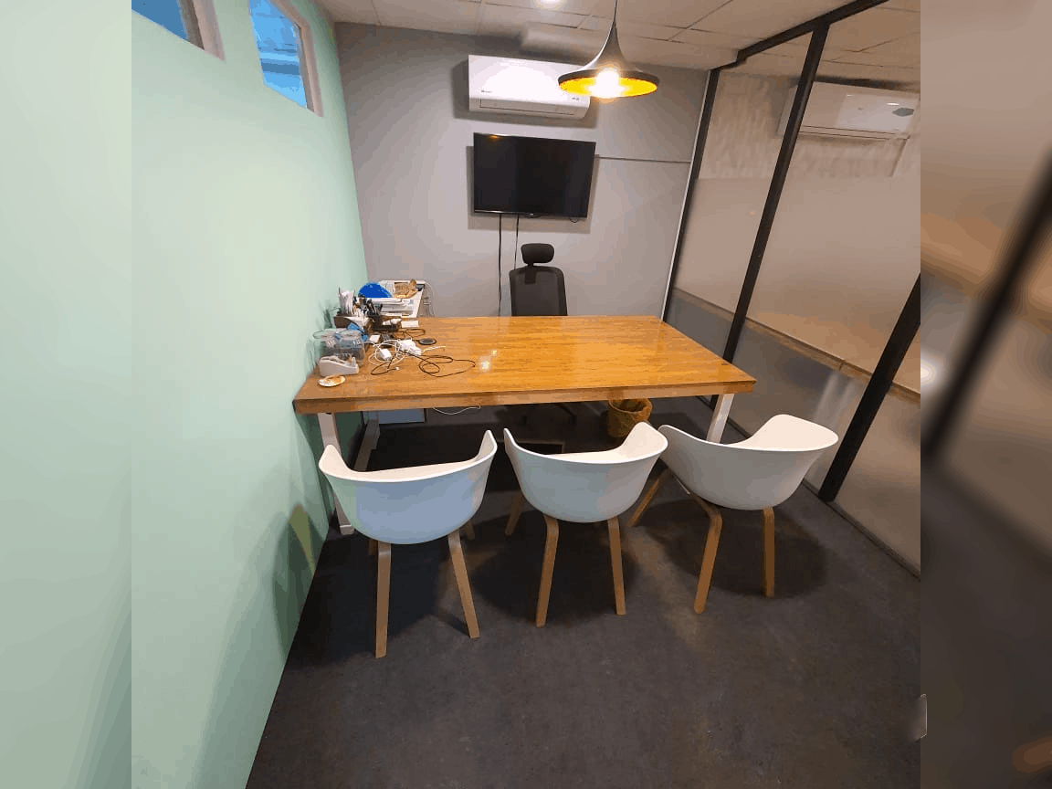 Dedicated office in coworking space