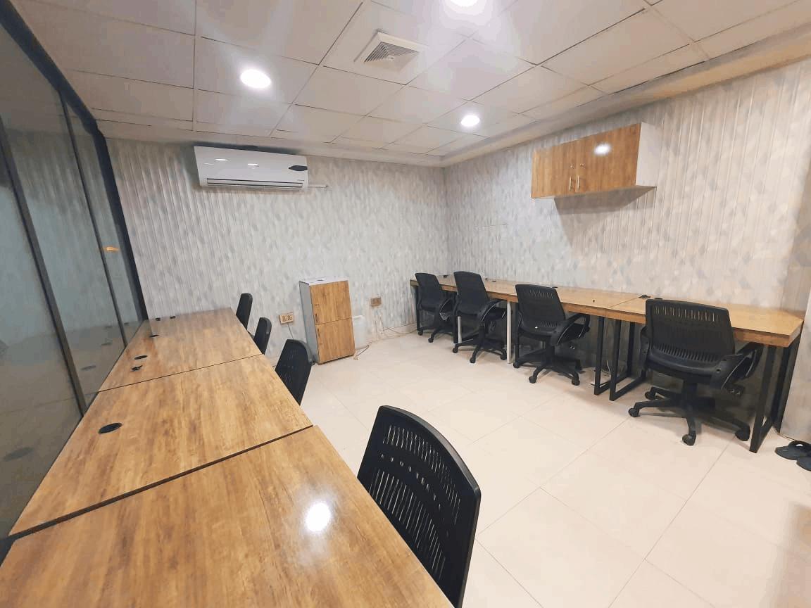 dedicated office in coworking space johar town